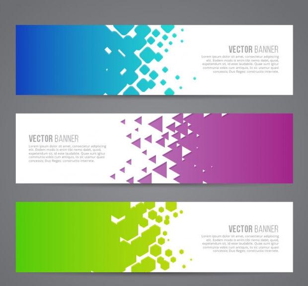 620x576 Abstract Banner Vectors