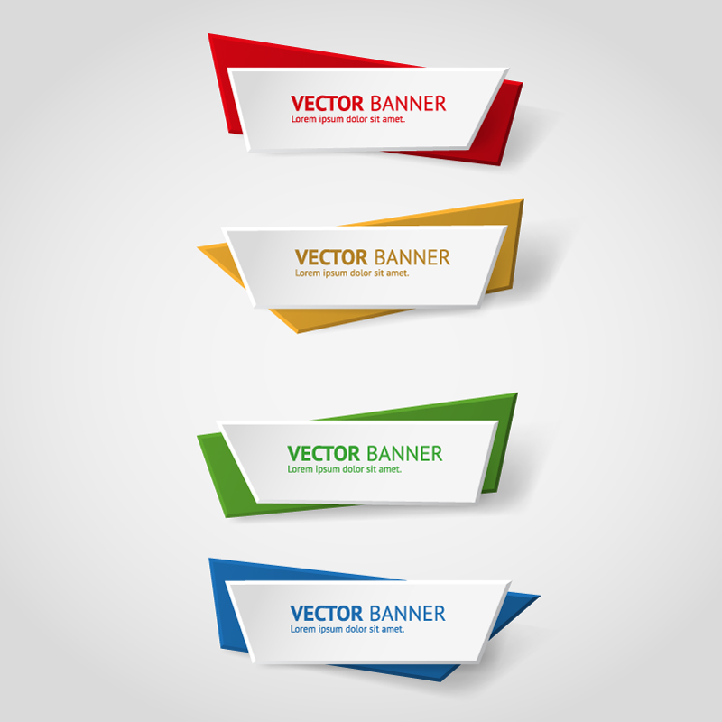 800x800 Color Simple Banner Vector Free Vector Graphic Download