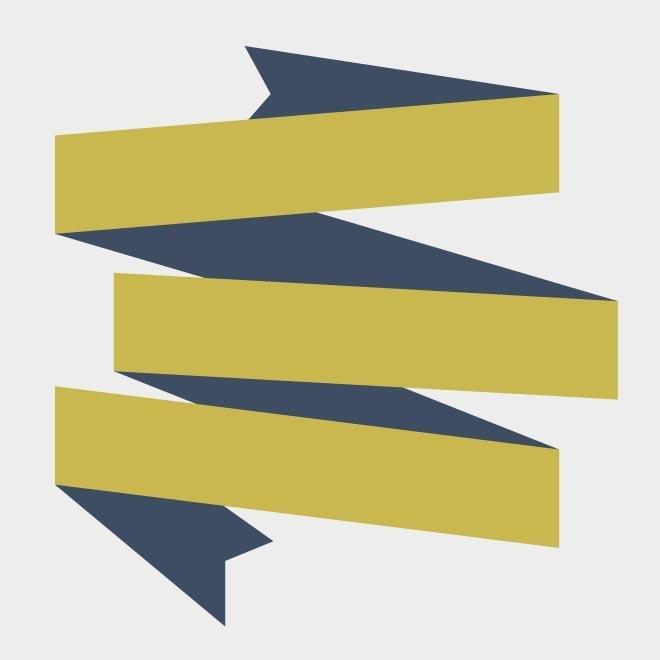 660x660 Free Origami Ribbon Banner Vector.eps Psd Files, Vectors