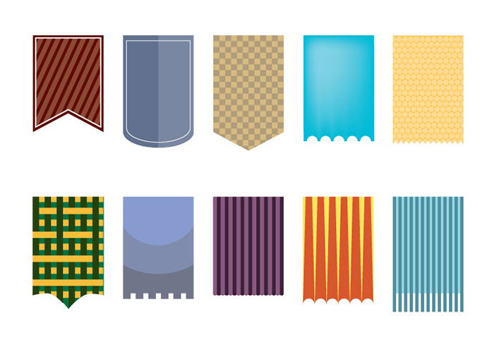 700x489 Free Vector Hanging Banners Creative Beacon