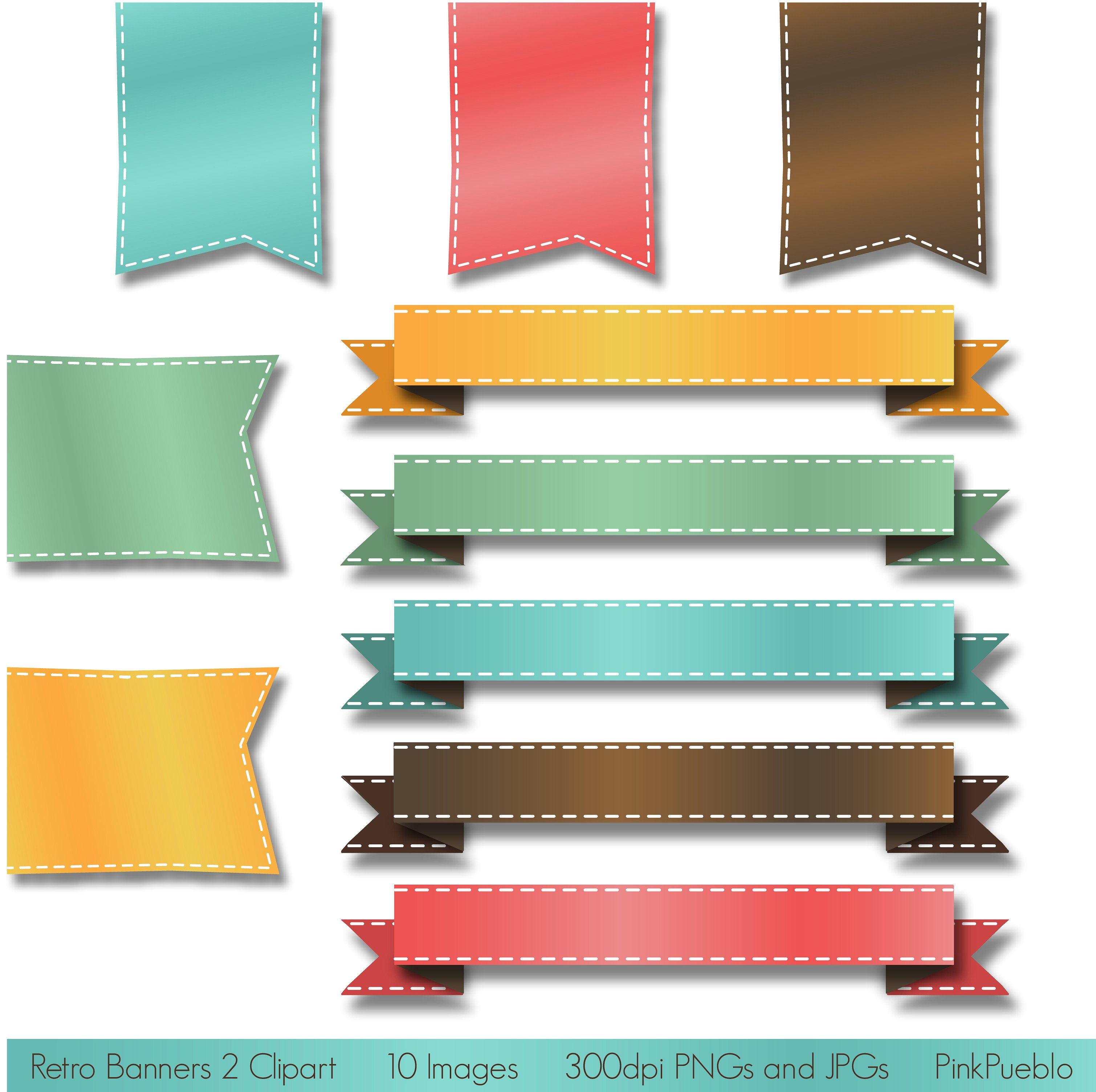 3019x3007 Banners Clipart Vector ~ Frames ~ Illustrations ~ Hd Images