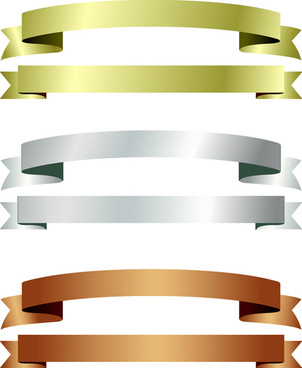 302x368 Shiny Paper Ribbon Banner Vector Png Images, Backgrounds And