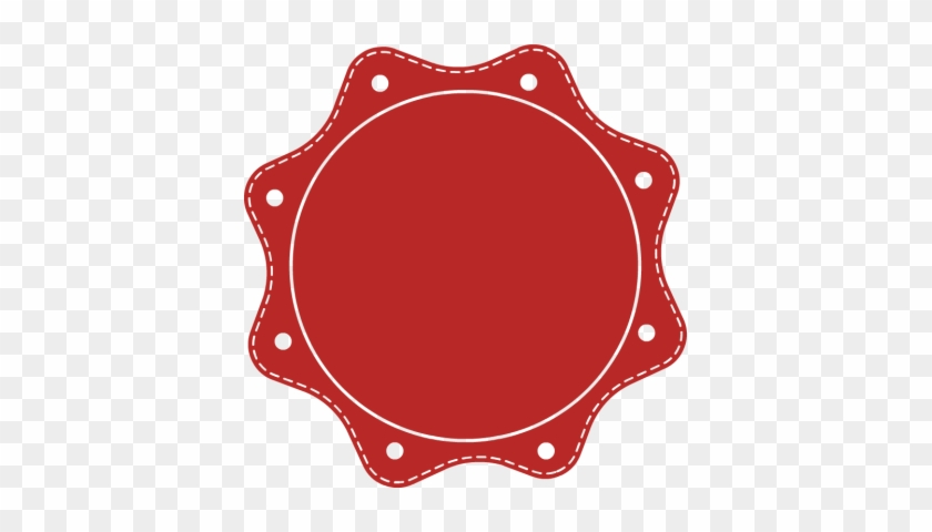 840x480 Vintage Circle Frame Vector Png Oval Frame Red Tag