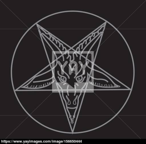 512x508 The Sigil Of Baphomet Vector