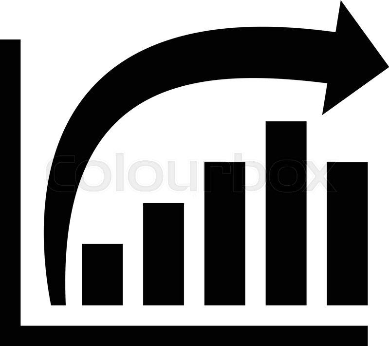 799x710 Bar Graph Vector Icon Stock Vector Colourbox