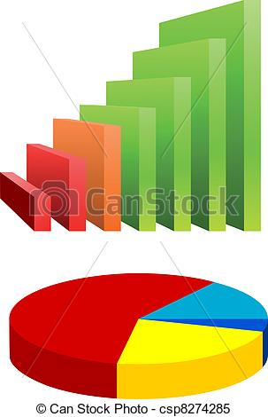 303x470 Pie Chart And Bar Graph.