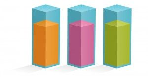 300x157 Use This Free Infographic Bar Graph Vector As A Design Element To