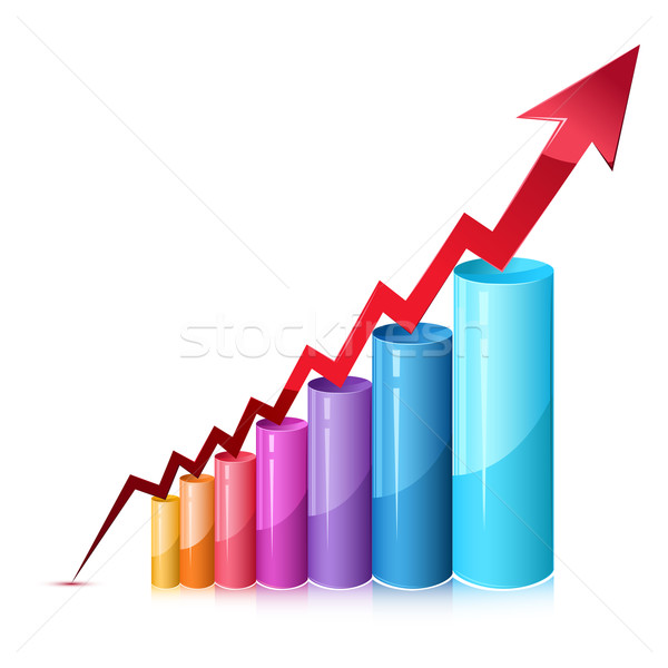 600x600 Bar Graph Vector Illustration Vectomart ( 776404) Stockfresh