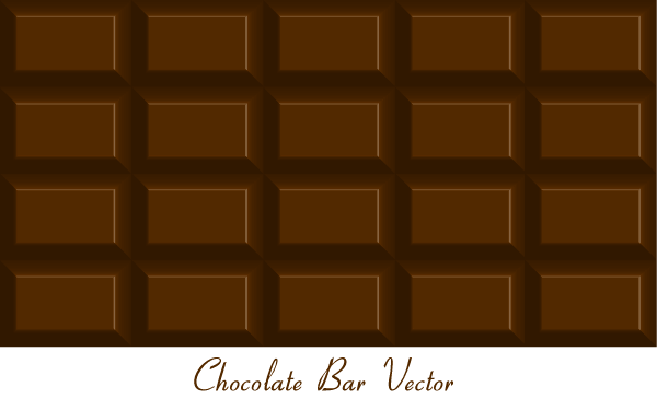600x365 Chocolate Bar Vector Free 123freevectors