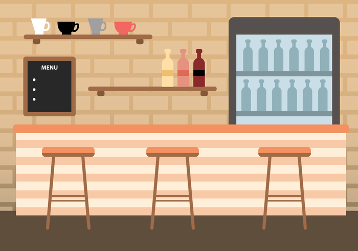 700x490 Bar Free Vector Art