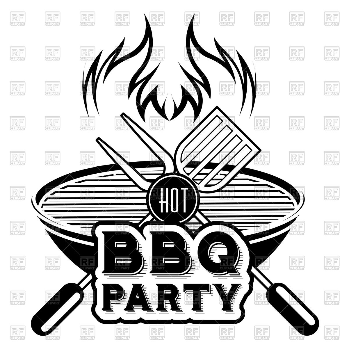 1200x1200 Barbecue Grill Vector Image Vector Artwork Of Food And Beverages