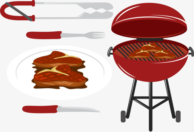650x442 Related Vector Barbecue, Vector, Grilled Clip, Grill Png And
