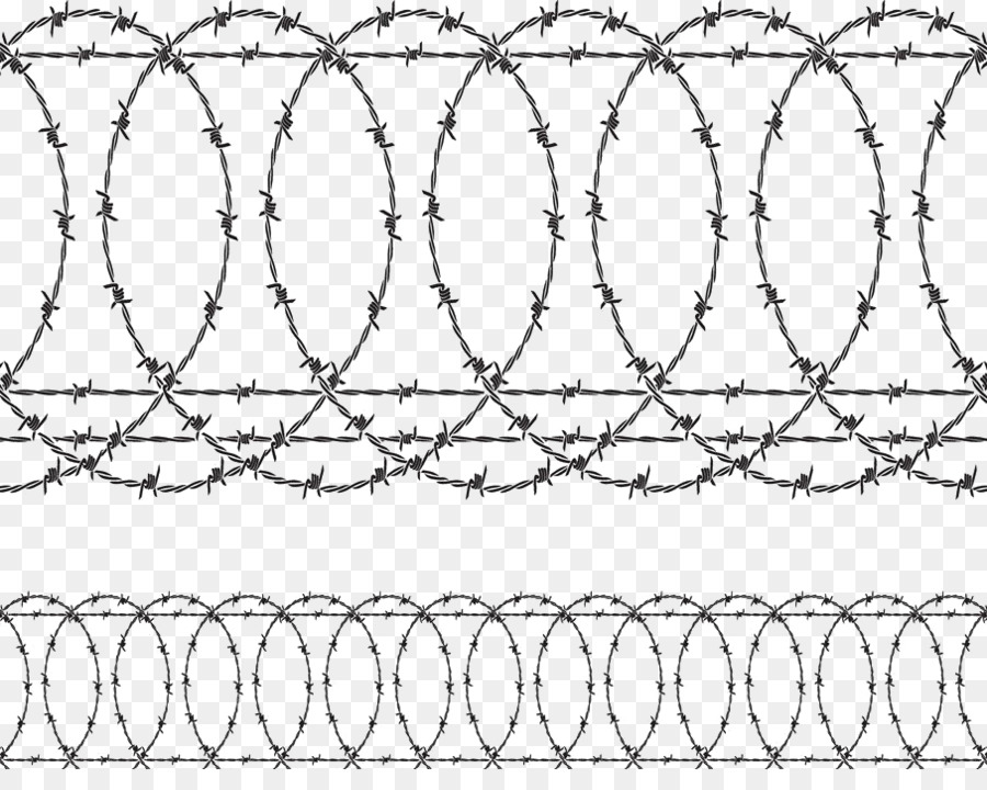 900x720 Barbed Wire Fence