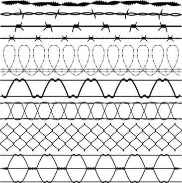 366x368 Barbed Wire Free Vector Download (261 Free Vector) For Commercial