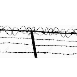 250x250 Barbed Wire Fence Vector