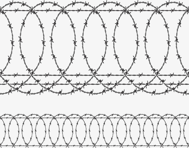 650x508 Barbed Wire Vector, Barbed Wire, Fence Vector, Power Png And