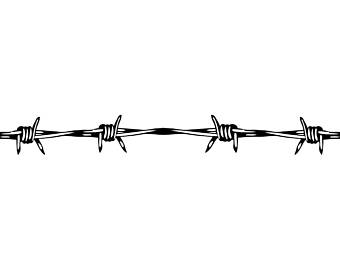 340x270 Barbed Wire Clipart Western