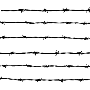 300x300 Barbed Wire Vector.png Human Rights Online Philippines