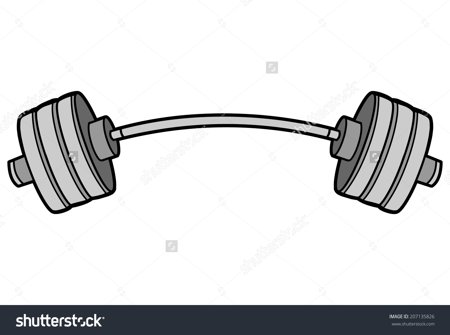 1500x1118 Outline Of Barbell Clipart Amp Outline Of Barbell Clip Art Images