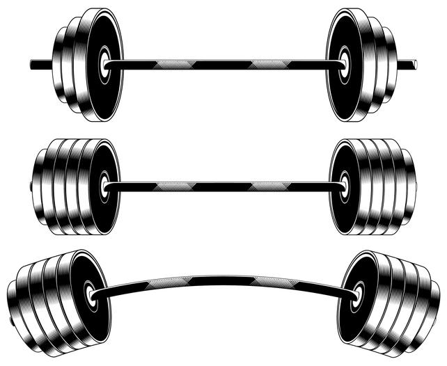 642x526 Barbell Powerlifting Sport Gym Weights Etsy