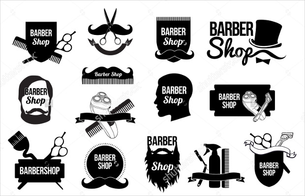 Barber Logo Vector