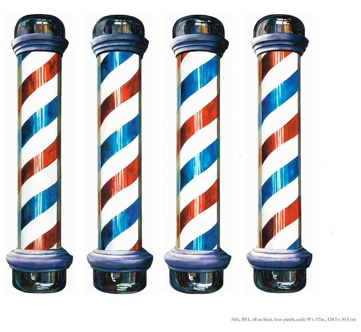 1264x1164 Barber Pole Vector Pole Vintage Barbershop Emblems Labels Stock