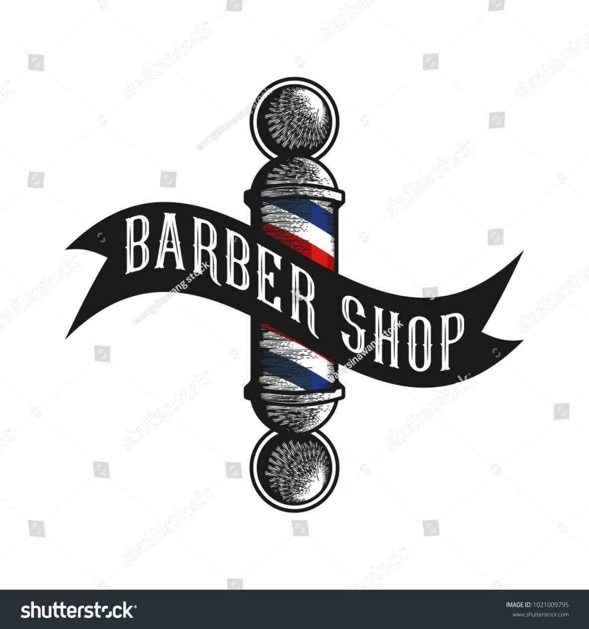 1185x1264 Set Including Barber Pole Stock Vector Rhshutterstockcom Logo