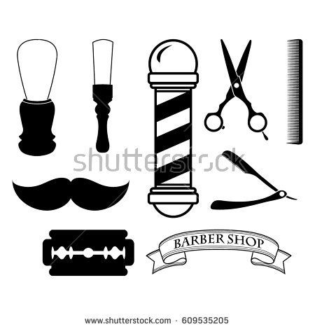 450x470 Barber Shop Vector Icon Barbershop Barber Shop