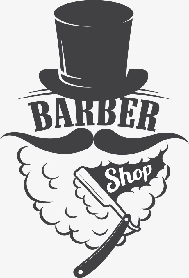 650x958 Creative Decoration Barber Shop Sign, Vector, Decoration