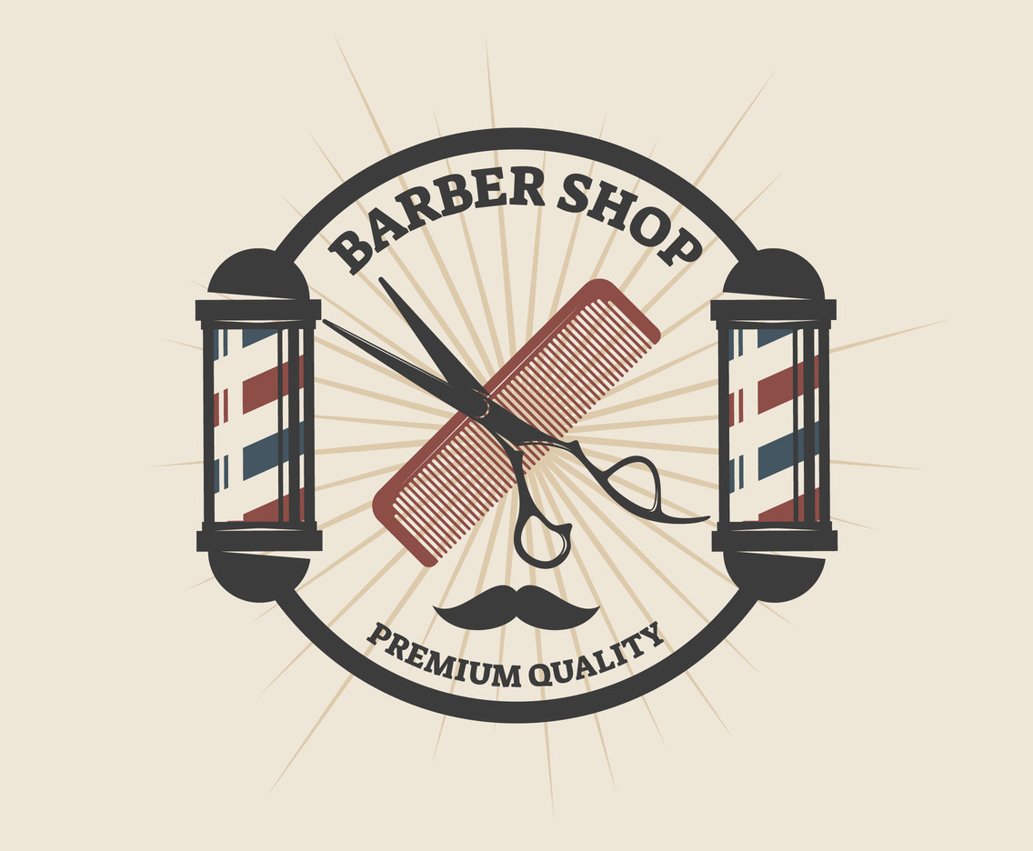 1136x936 Awesome Barber Shop Vectors Vector Art Amp Graphics