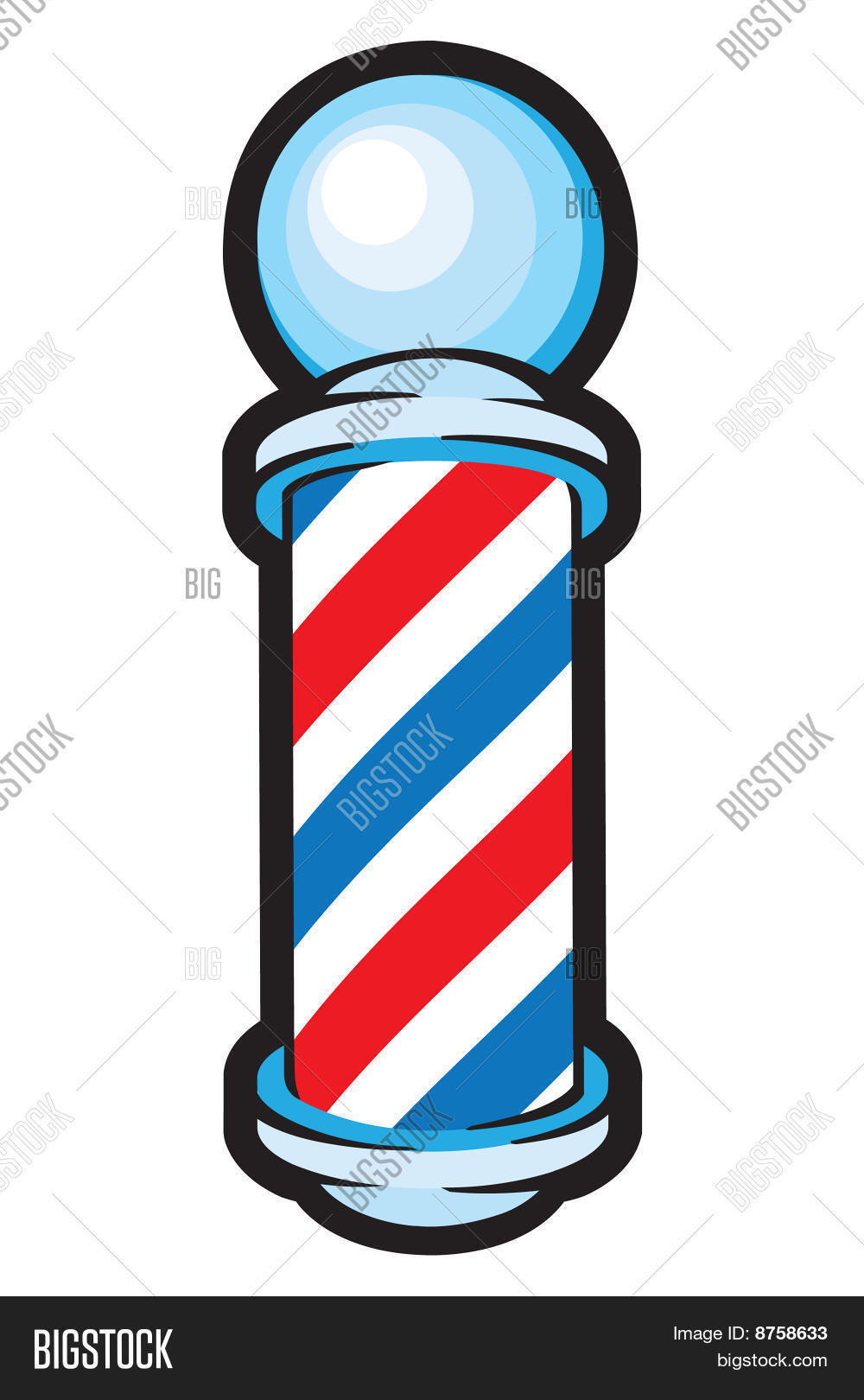 1000x1620 Haircut Clipart Barber Shop Pole ~ Frames ~ Illustrations ~ Hd