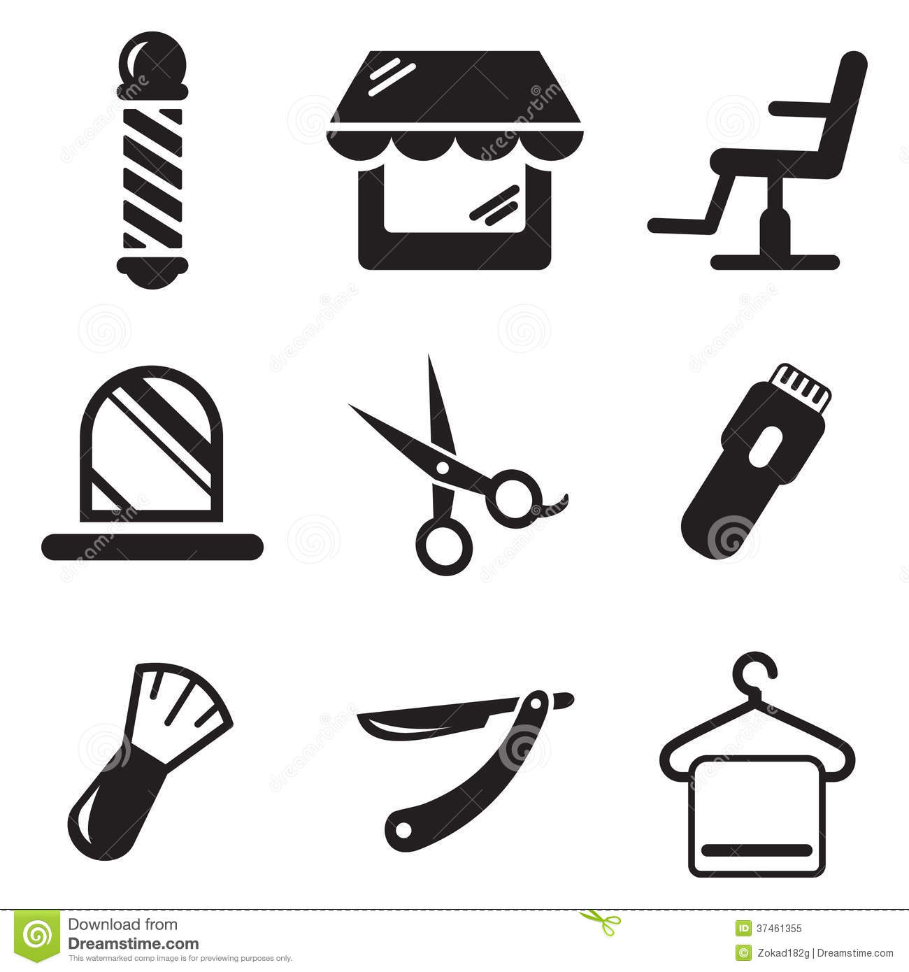 1300x1390 Barber Shop Clipart Gallery Images)