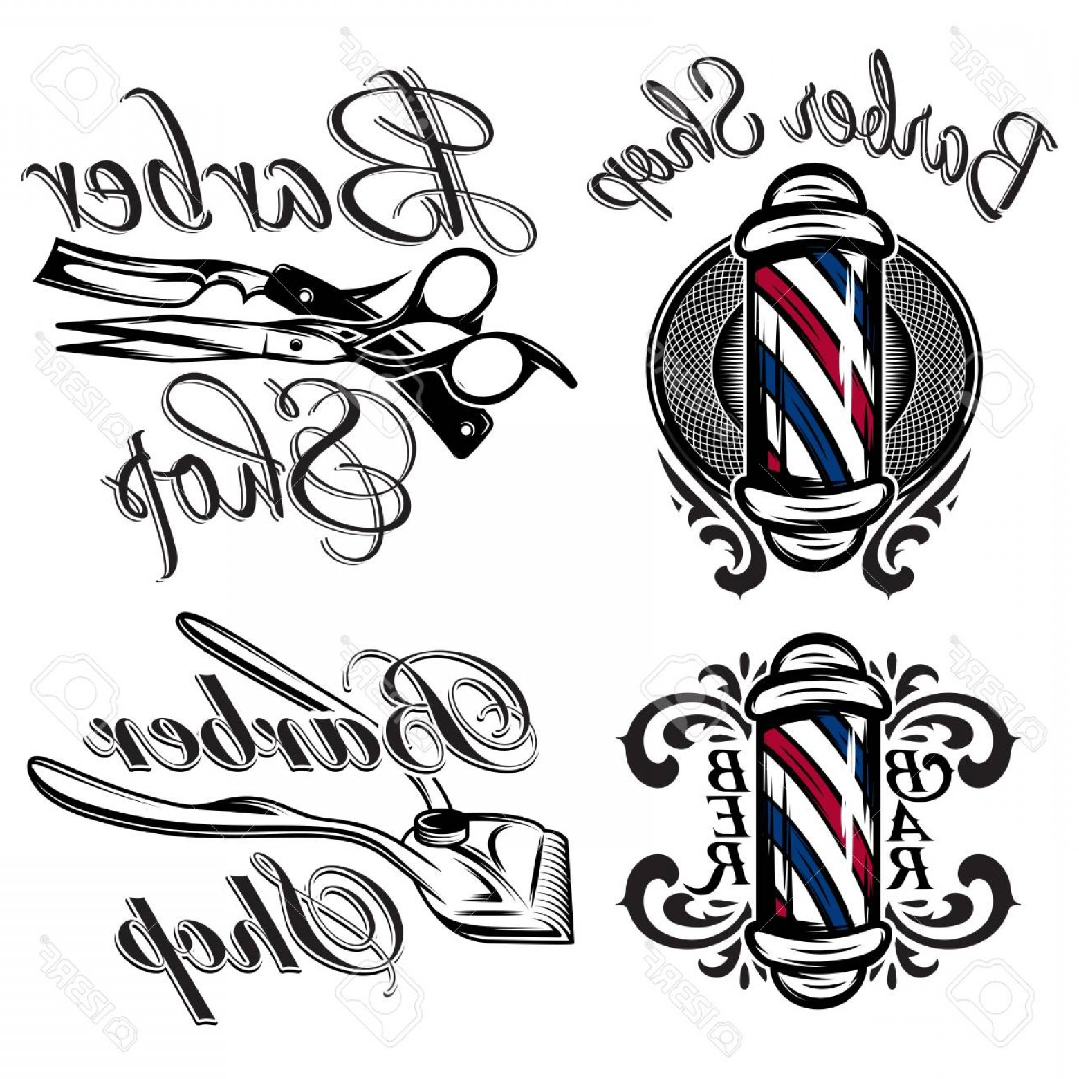 1560x1560 Barber Shop Vector Art Arenawp