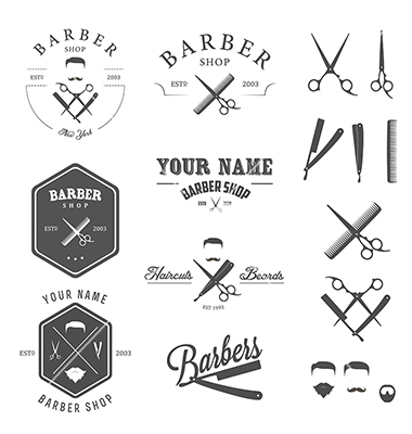 Barber Shop Vector Art