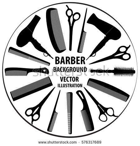 450x470 Resultado De Imagem Para Barber Vector Ideias Para Barbearia