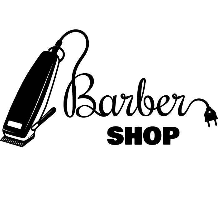 700x674 Barber Logo 2 Salon Shop Haircut Hair Cut Groom Grooming Etsy
