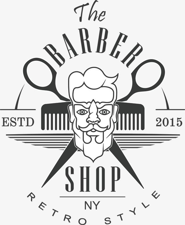 650x788 Black Barber Shop Sign, Black Vector, Barber Vector, Shop Vector