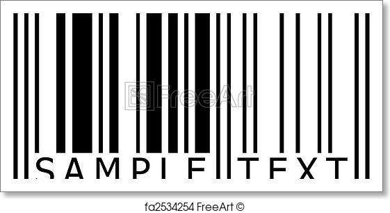 561x306 Free Art Print Of Sample Text Barcode. Sample Text Barcode