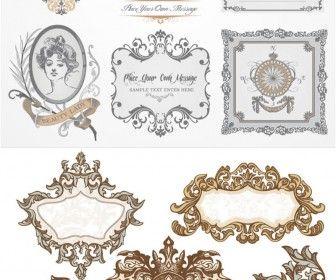336x280 Baroque Frames Vector Resources Vectors
