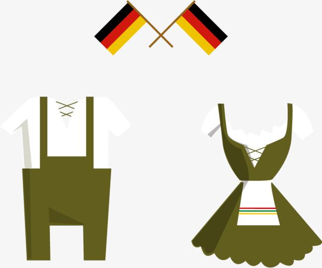 650x540 Vector German Flag And Bartender Apparel, Flag Vector, Skirt