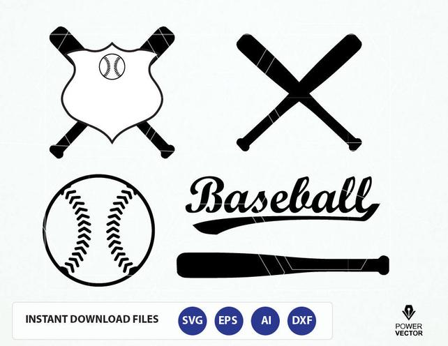 642x496 Baseball Svg Cut File. Baseball Bat Svg. Softball Sports Svg Etsy