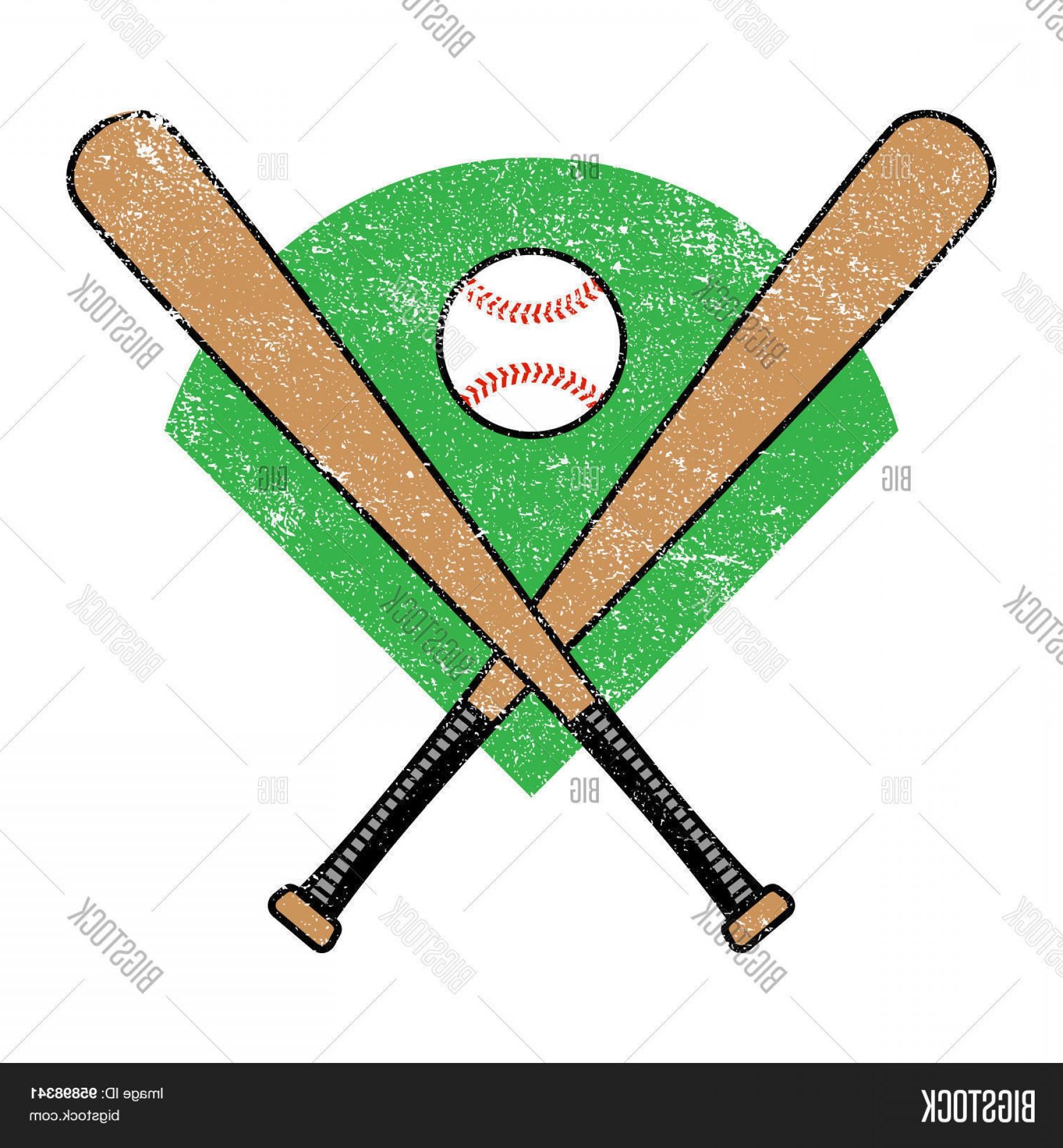 1800x1944 Stock Vector Baseball Bat And Ball Arenawp