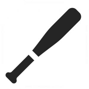 300x300 Baseball Bat Vector Art Icon Web Icons Png