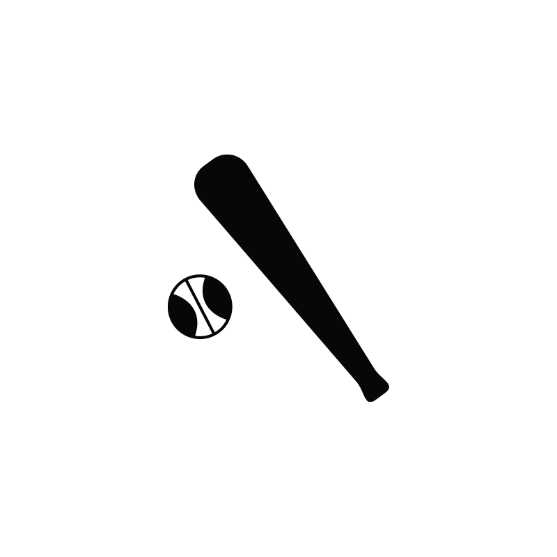Baseball Bat Vector Free