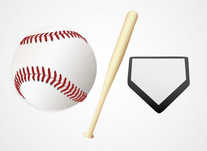 680x494 Free Baseball Ball And Bat Vector Graphics (Free) Psd Files