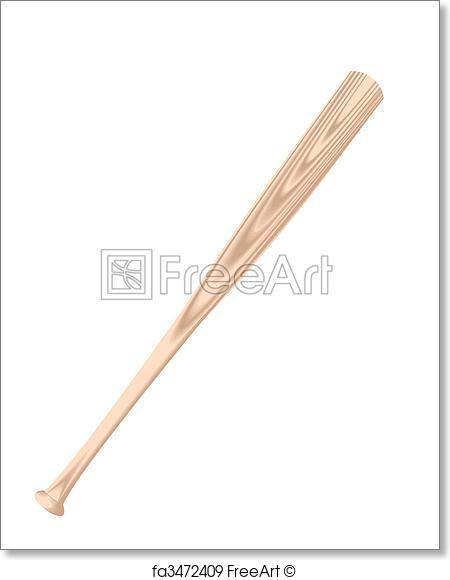 450x580 Free Art Print Of Baseball Bat. Baseball Bat