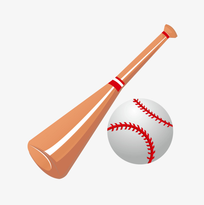 650x651 Vector Cartoon Baseball Bat, Cartoon Vector, Baseball Vector, Bat