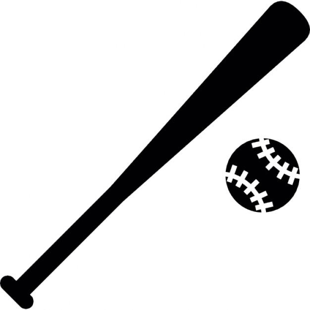 626x626 Baseball Bat Vector Free Download Clip Art