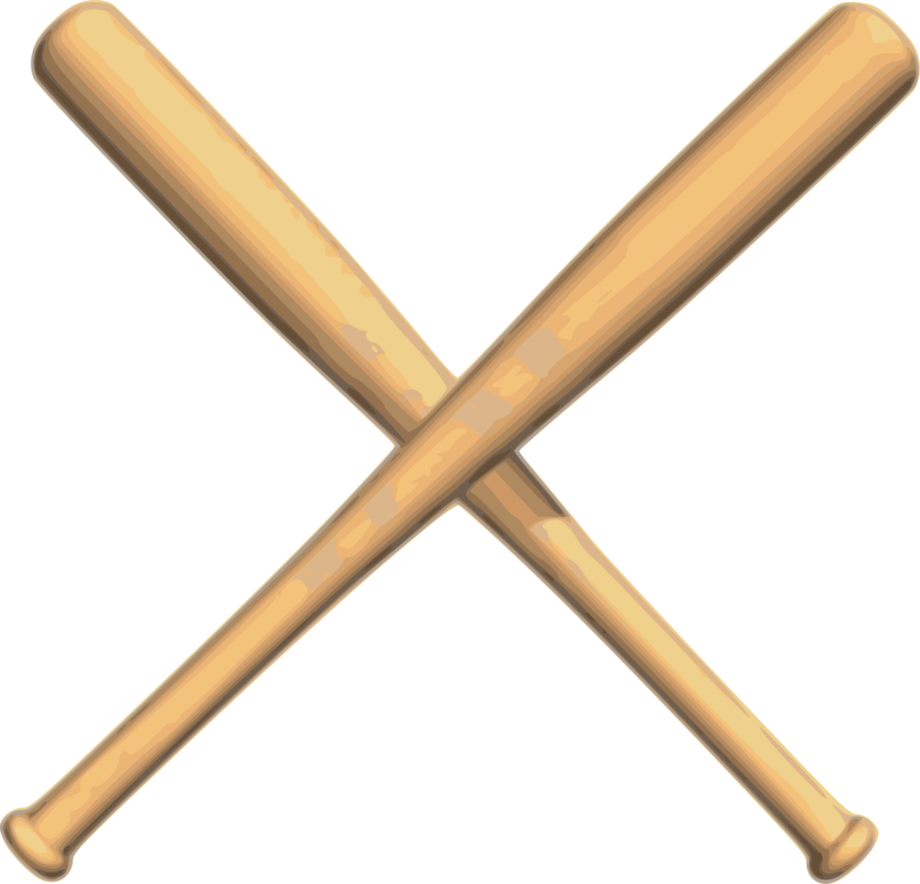 Baseball Bat Vector Free Download