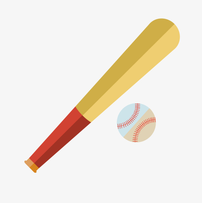 650x651 Vector Cartoon Baseball Bat, Cartoon Clipart, Baseball Clipart